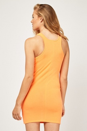 Sleeveless Jersey Bodycon Dress