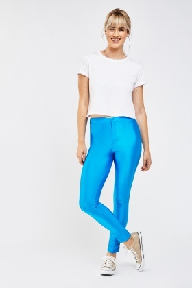 Shiny Skinny Disco Leggings