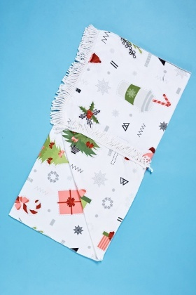 Christmas Mixed Beach Towel