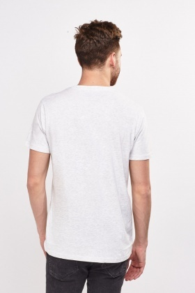 Light Grey Graphic T-Shirt