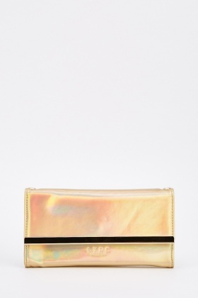 Mini Holographic Clutch Bag