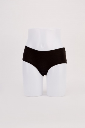 Pack Of 5 Pairs Of Hipster Briefs