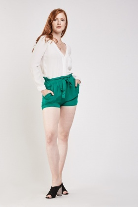 Tie Up Culotte Shorts