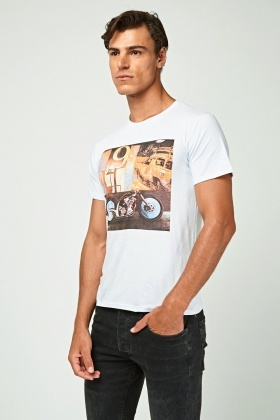 Graphic Mens Top