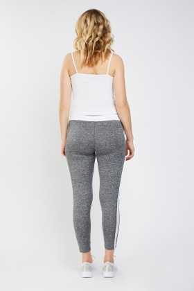 Speckled Colour Block Sports Leggings