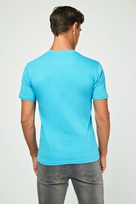 Graphic Blue T-Shirt