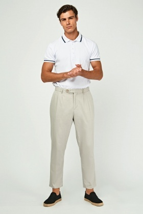 Light Weight Straight Leg Chinos