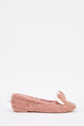 Bunny Rabbit Ballerina Slippers
