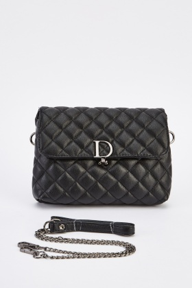 Classic Quilted Baguette Bag