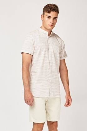 Regular Fit Stitched Shirt
