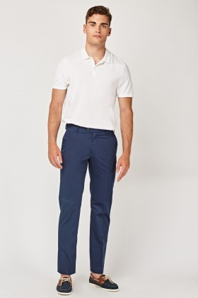 Tailored Dark Blue Trousers