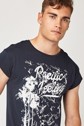Printed Pacific T-Shirt