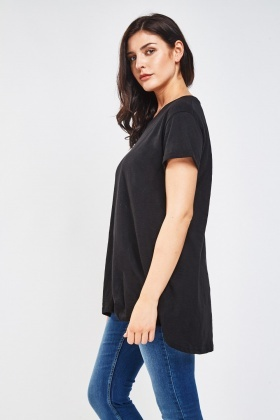 Round Neck Casual Top