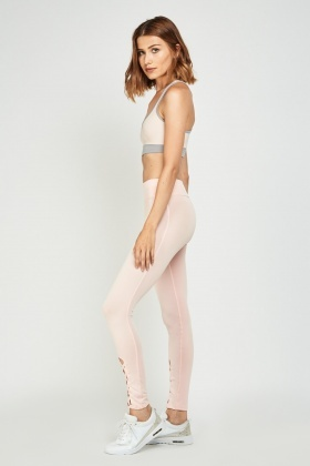 Criss Cross Front Sports Leggings