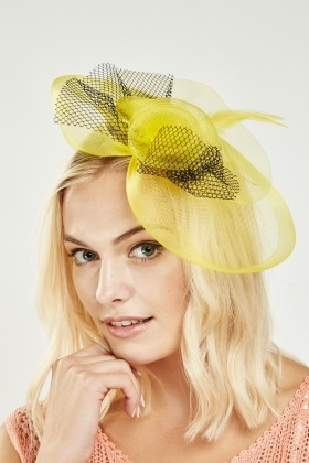 Rose Mesh Contrast Fascinator - 4 Colours - Just £5 c72f3420dbe