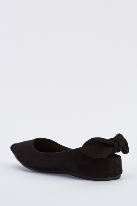 Tie Up Suedette Slingback Pumps