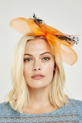 Mesh Detailed Fascinator 8bad429c377