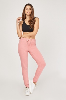 Mid Rise Casual Jogger Pants