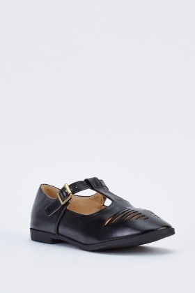 Cut Out T-Bar Flats