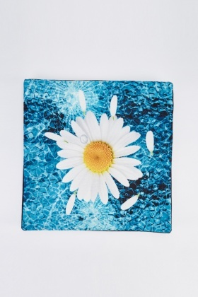 Daisy Print Cushion