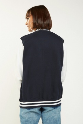 Two Tone Bomber Jacket