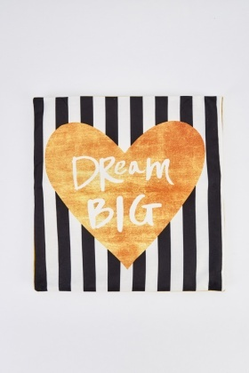 Dream Big Printed Cushion
