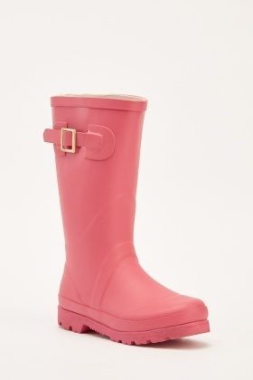 Buckle Side Girls Wellies