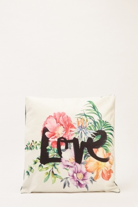 Floral Love Cushion