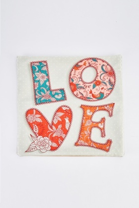 Love Graphic Cushion