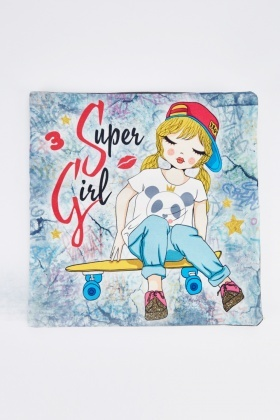 Super Girl Graphic Cushion