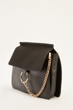 Chained Detailed Classic Bag