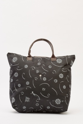 Printed Shopper Foldable Bag