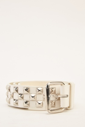 Studded Casual Belt
