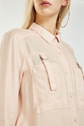 D-Ring Pocket Front Shirt