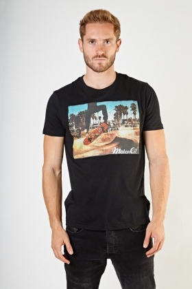 Graphic Front Mens T-Shirt