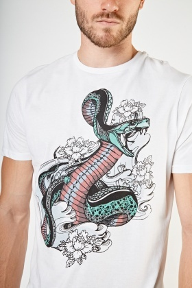 efed9275e Snake Print T-Shirt - Just £5