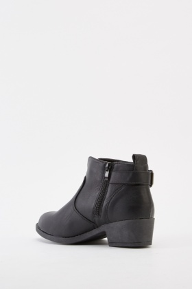 Black Classic Ankle Boots