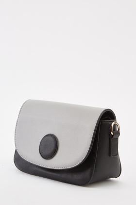 Colour Block Mini Flap Bag