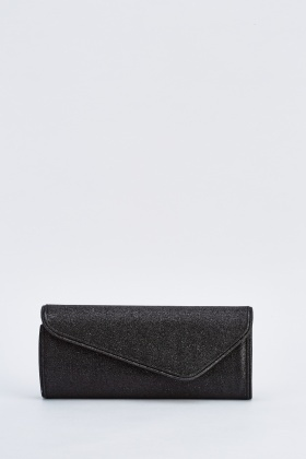 Glittered Envelope Clutch Bag