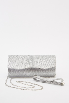 Mini Lurex Clutch Bag