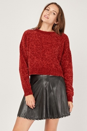 Chunky Knit Speckled Jumper