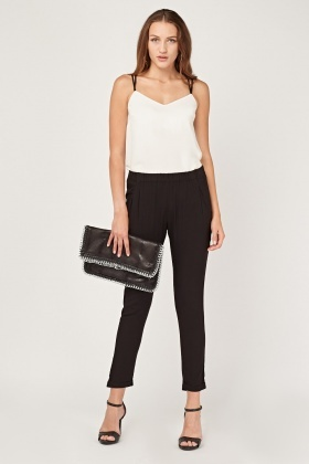 Sheer Tapered Trousers