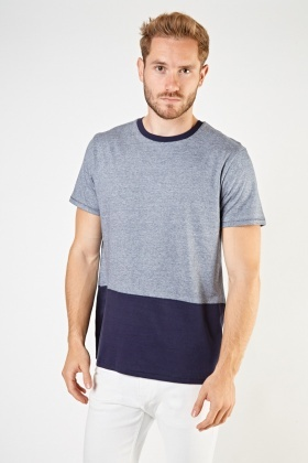 Speckled Contrast T-Shirt