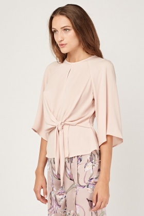 Tie Up Knotted Flared Top