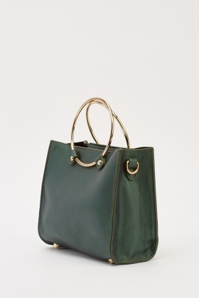 Faux Leather Small Bag