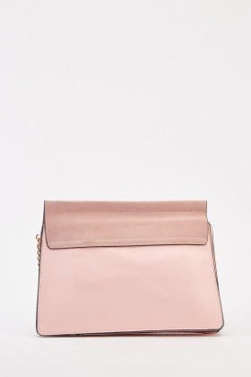 O-Ring Chain Contrast Bag