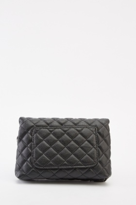 Studded Quilt Contrast Mini Bag
