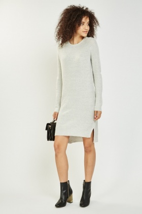 provide plenty of authentic quality outlet store Knitted Midi Jumper Dress
