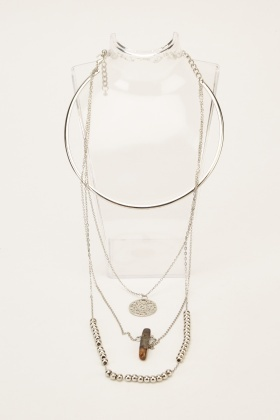 Layered Chained Necklace