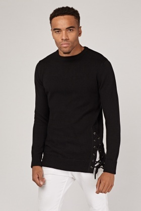 Long Sleeve Rib Knit Jumper